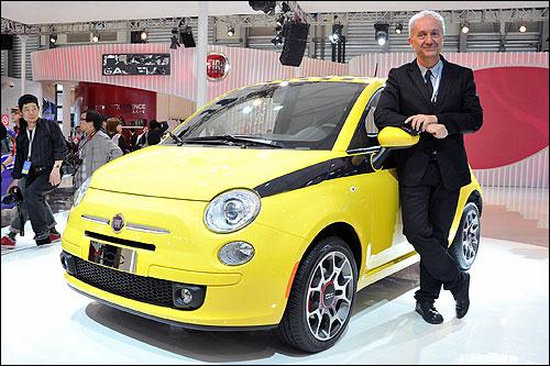 菲亚特集团设计部副总裁 Roberto Giolito先生