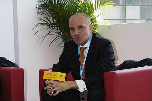 博通汽车设计公司总裁 桑德罗·科里拉