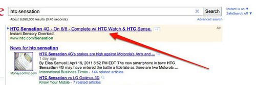 双核Android HTC Sensation或于6月发售