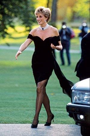 英国戴安娜王妃-全球王室美女榜 英国准王妃列第三