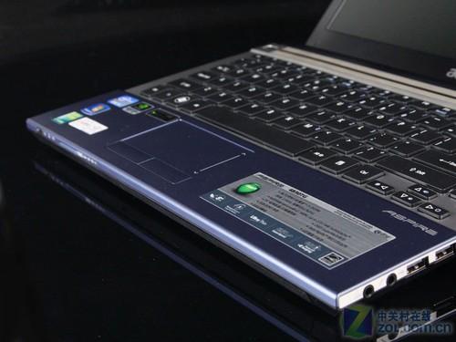 冰蓝色掌托设计-轻薄再度升级 SNB平台宏碁4830TG评测图片