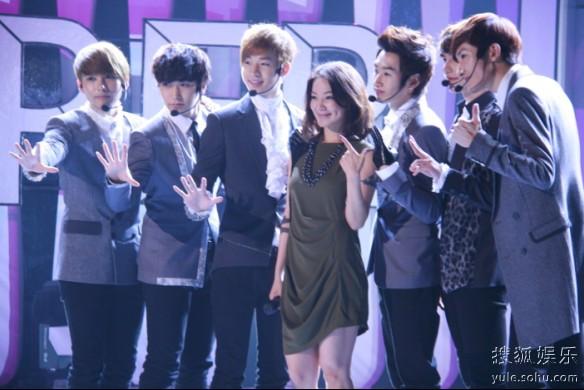 super junior m综艺_Super Junior-M做客江苏综艺再掀狂热-搜狐娱乐
