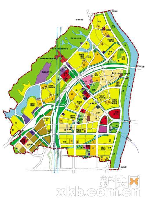 金沙洲医院学校公园大幅增加(图)