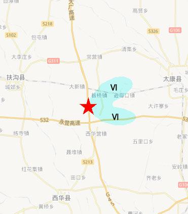 河南扶沟地图全图