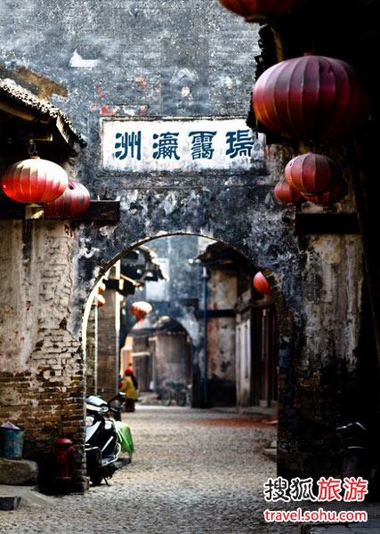 广西大圩古镇 连个公厕都难找
