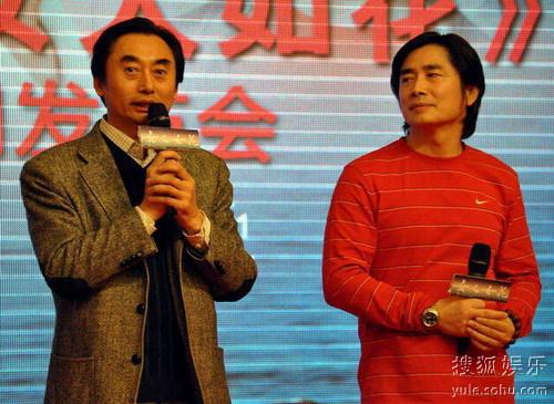 制片人张炜(左)和导演曾晓欣(右)