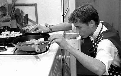 威廉自己做饭