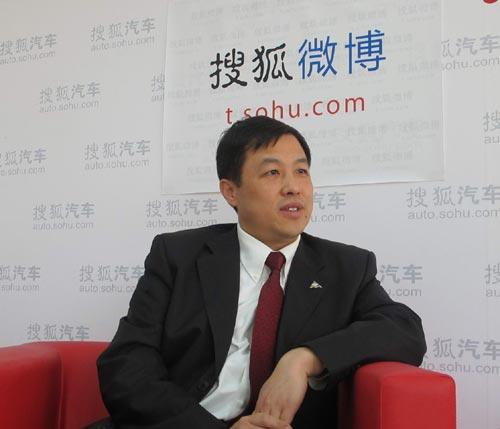 上海汽车商用车有限公司董事总经理蓝青松
