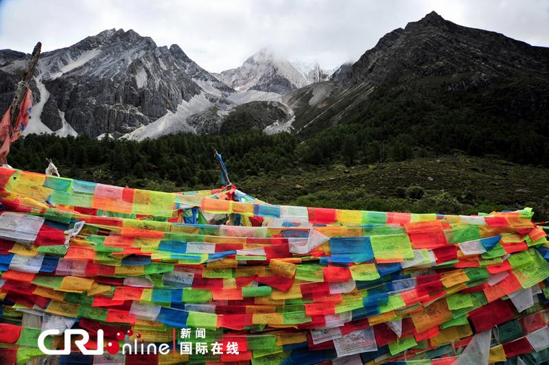 安多藏区的经幡样式 特约摄影师:那磊图片