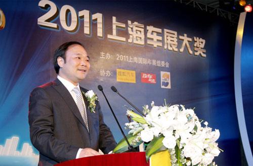 李书福董事长发表获奖感言