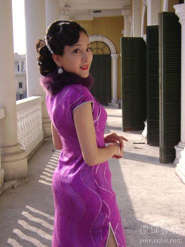 马苏旗袍造型