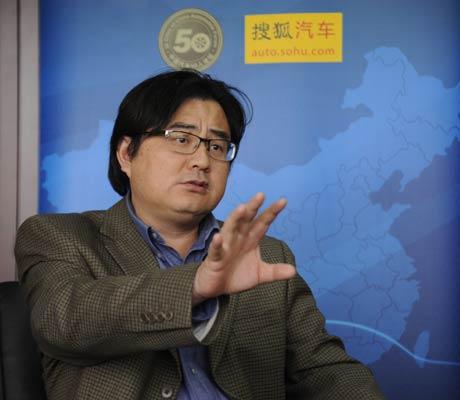 上海交通大学校长助理、汽车工程研究院院长 许敏