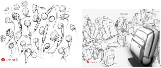 虽然还处于设计草图阶段,但仍可以看出vivick设计功底和努力图片