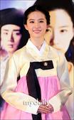新版《倩女幽魂》韩国首映 刘亦菲韩服亮相
