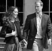 威廉王子可能9月赴马岛服役 凯特留守英国(图)