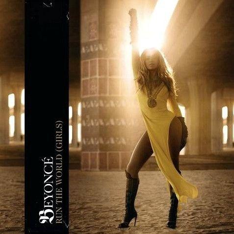 《Run the World (Girls)》单曲封面。