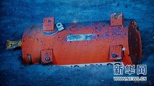 调查分析局5月1日公布了被找到的2009年失事法航客机机载黑匣子的照片