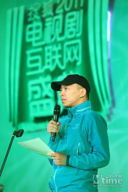 搜狐老总张朝阳。(图片来源:时光网)