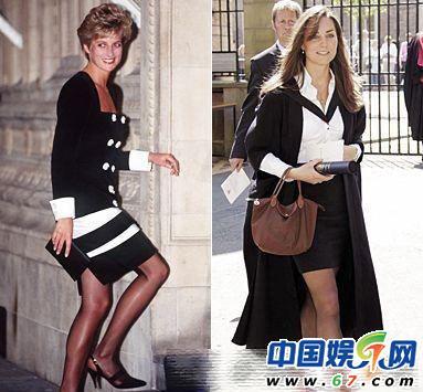 戴安娜 凯特 英国两代王妃大PK