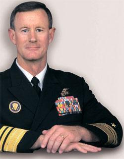 """击杀拉登的""""一等功臣"""":美军联合特种作战司令官威廉姆·麦瑞文"""