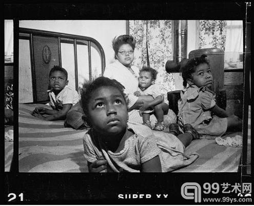 1949年夏天 LOOK 杂志委任库布里克去拍摄芝加哥的作品