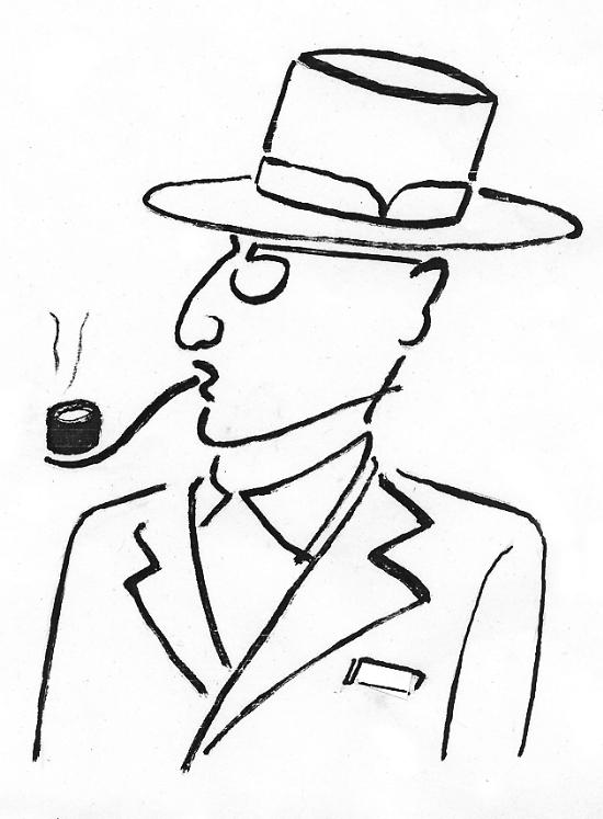 绅士画像(图)