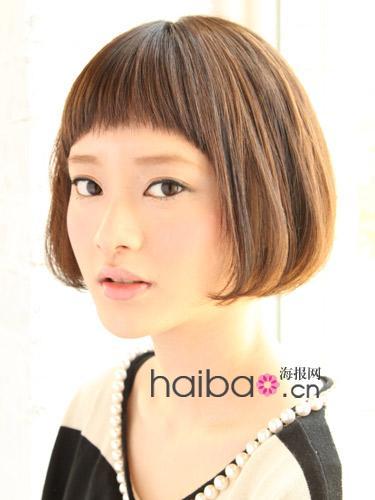 齐耳短发新娘发型图片大全 齐耳的短发发型,非常的帅气