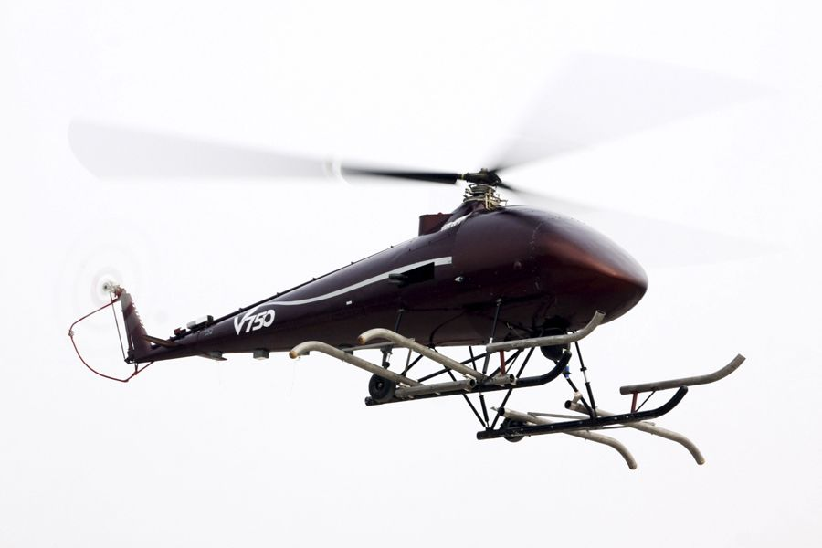 V750 China Spy Helicopter Drone Completes Unmanned Test Flight