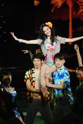刘雨欣表舞蹈《 加州女孩》