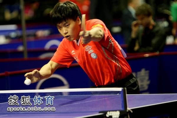 枪. 国乒混双组合、同时也是本届世乒赛混双比赛的头号种子郝帅/图片