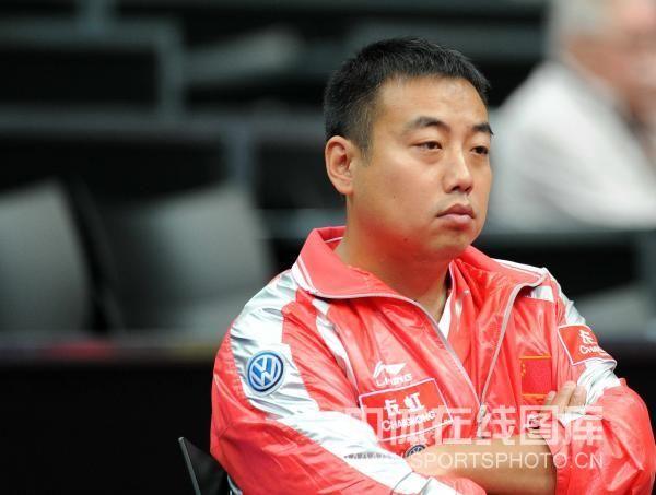 图文:世乒赛马琳4-0完胜费利蒙 刘国梁观战