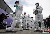 日本辐射区约百名民众首次临时返家(组图)