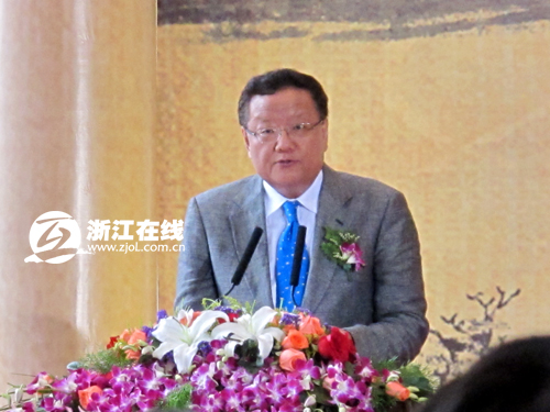 凤凰卫视董事局主席刘长乐出席