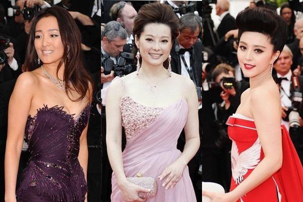 戛纳电影节隆重争艳中国女星红毯开幕(被窝)趴组图电影网图片