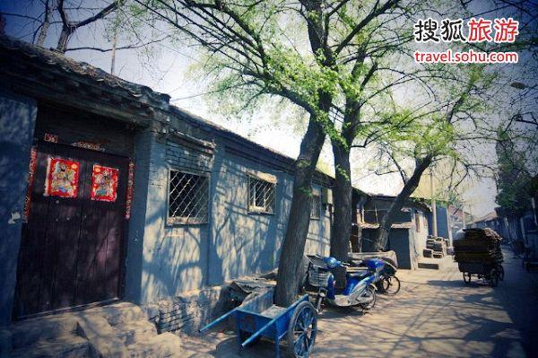 东晓市附近的胡同 来源:北京爷们(搜狐博客)