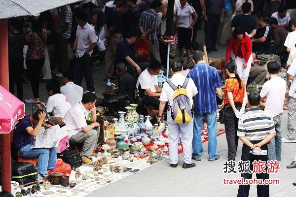 北京鬼市北京夜市潘家园旧货市场