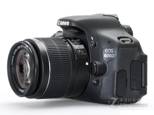 1800万像素、高清摄像 佳能600D套机促销