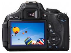翻转LCD+全新套头 佳能入门新贵600D上市