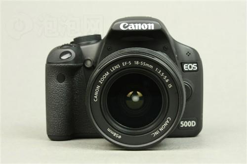 佳能(Canon) EOS 500D(单头套机18-55IS)