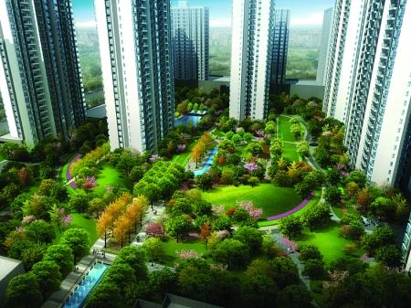 富力城二期 精装房6600元/平方米起(图)