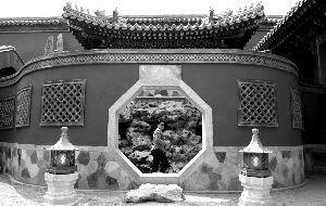 2006年的建福宫。资料图片 薛珺 摄