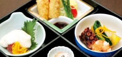 日本桥日式餐厅的餐食很地道