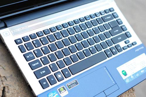 宏碁Aspire 4830TG键盘设计