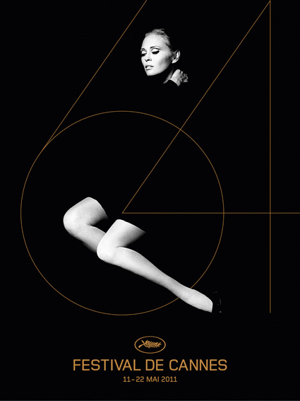 戛纳电影节海报影星费伊 达纳韦获颁法国荣誉勋章