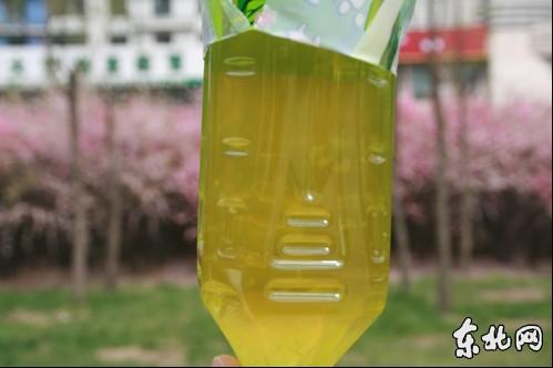 康师傅饮料现颗粒絮状物 绿茶变果粒橙