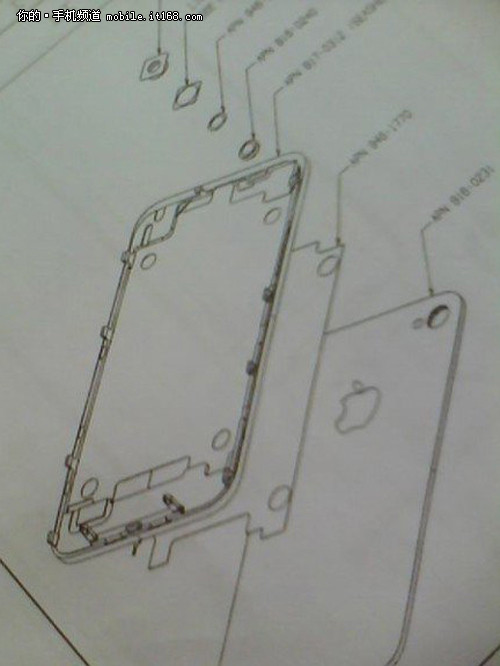 镜头闪光灯拆分设计 iPhone5安装图曝光