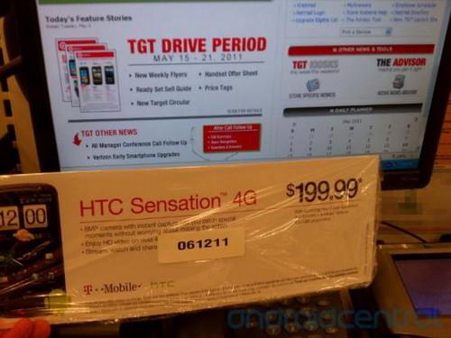 双核新旗舰 HTC Sensation 4G下月发售
