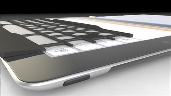 iPad最新创意配件iKeyboard