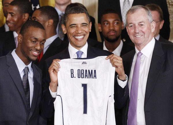 奥巴马大笑