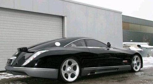 exelero在2007年首次亮相就震惊了汽车业界,这辆车是迈巴赫的第一